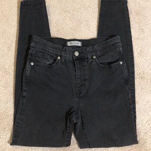 Madewell High Riser Skinny Skinny Jeans, size 28
